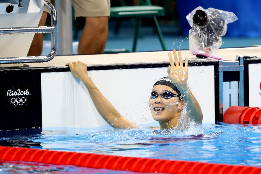 2016 Swammy Awards: Asia Female Swimmer Of The Year