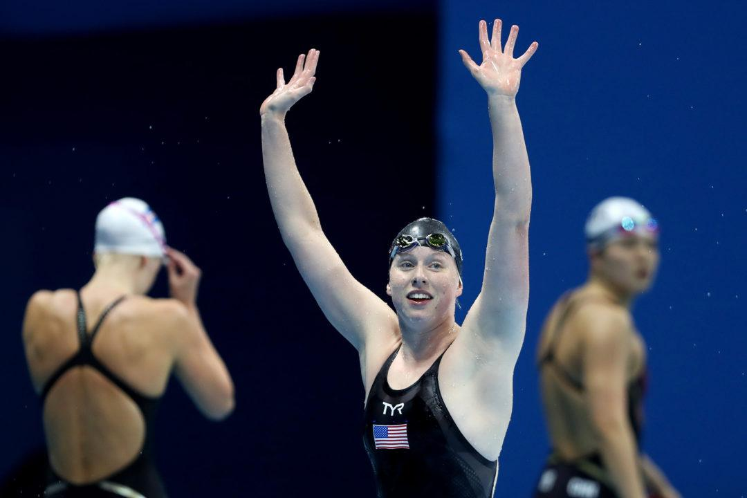 Lilly King Goes Even Faster for U.S. Record, Her First 50 SCM BR Under 29