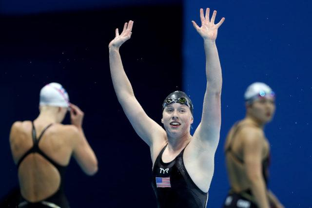Lilly King - 2016 Olympic Games in Rio -courtesy of simone castrovillari