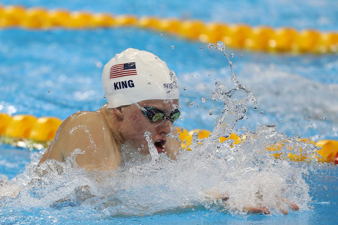 Lilly King Wags Finger At Efimova In 100 Breast Semis