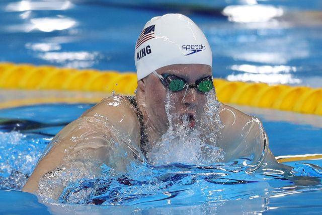 Lilly King - 2016 Olympic Games in Rio -courtesy of simone castrovillari