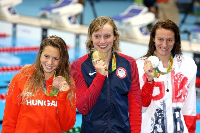Katie Ledecky - Olympic Gold - 800 free - 2016 Rio Olympics/photo credit Simone Castrovillari