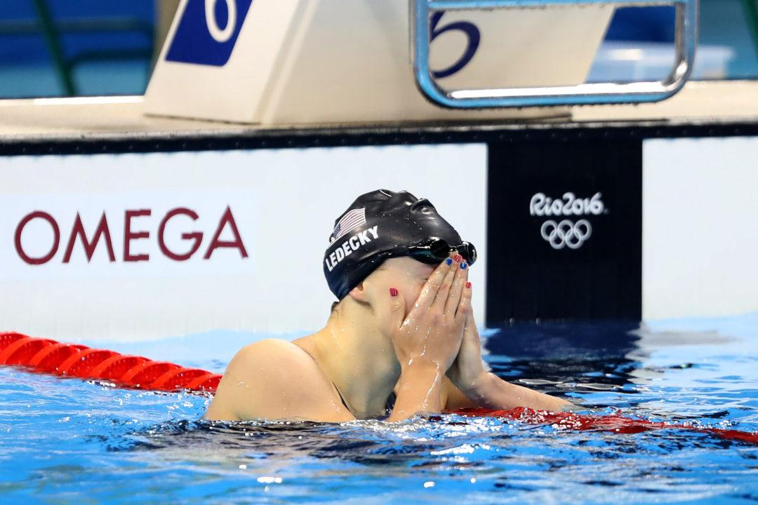 Rio Twitter Recap Day 5: Ledecky Impresses Yet Again
