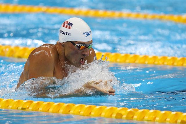 Ryan Lochte - 2016 Rio Olympics/photo credit Simone Castrovillari