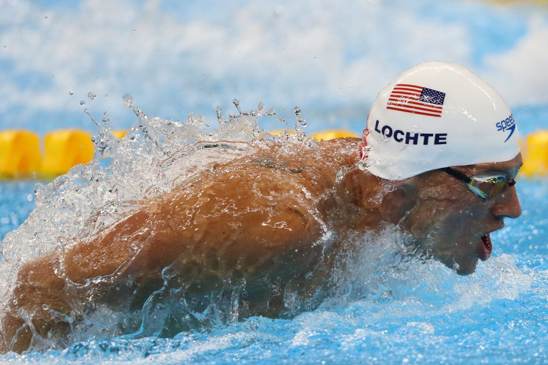Ryan Lochte #67, Ning Zetao #66 On ESPN's World 100