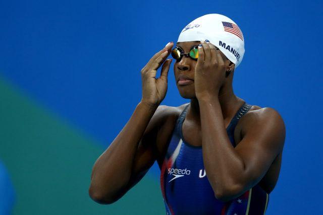 Simone Manuel - 2016 Rio Olympics/photo credit Simone Castrovillari