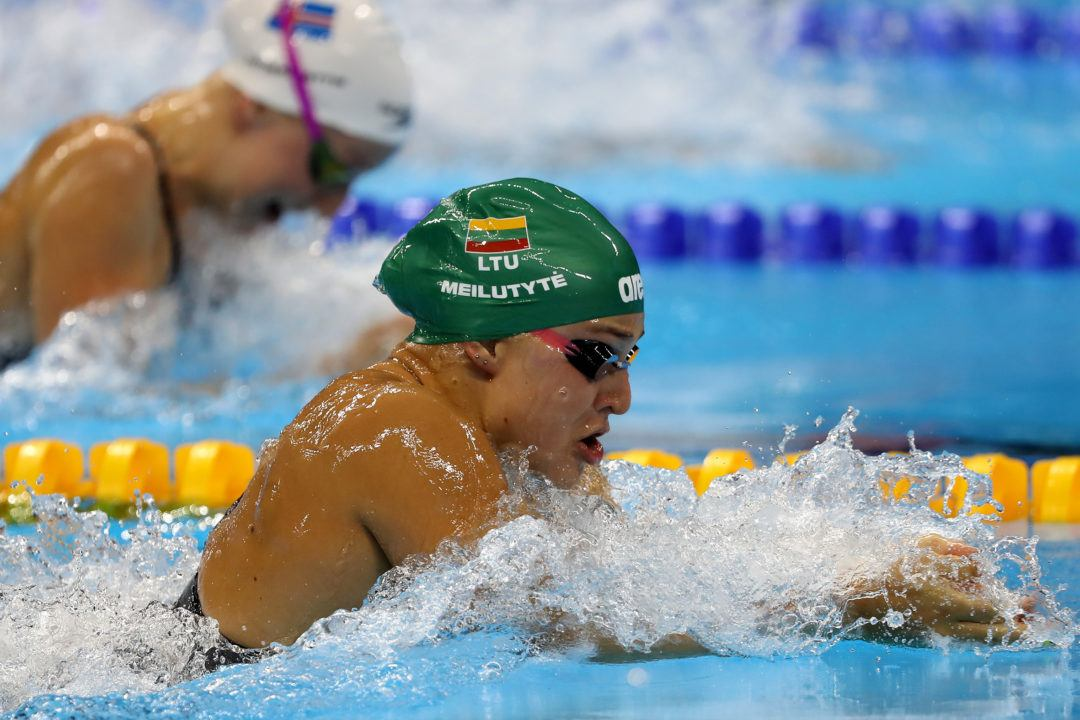 Gold Medalist Meilutyte Joins Stanford Women's Practice