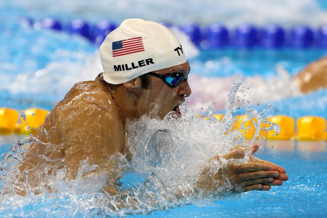 Cody Miller Shows Why Bronze Medal Is Golden