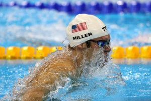 Cody Miller Honored with Ceremonial Keys to Vegas