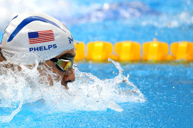 Michael Phelps - 2016 Rio Olympics/photo credit Simone Castrovillari