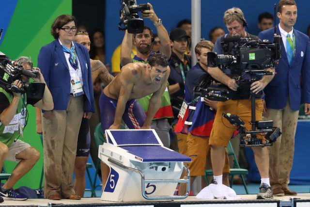Michael Phelps - 2016 Olympic Games in Rio -courtesy of simone castrovillari