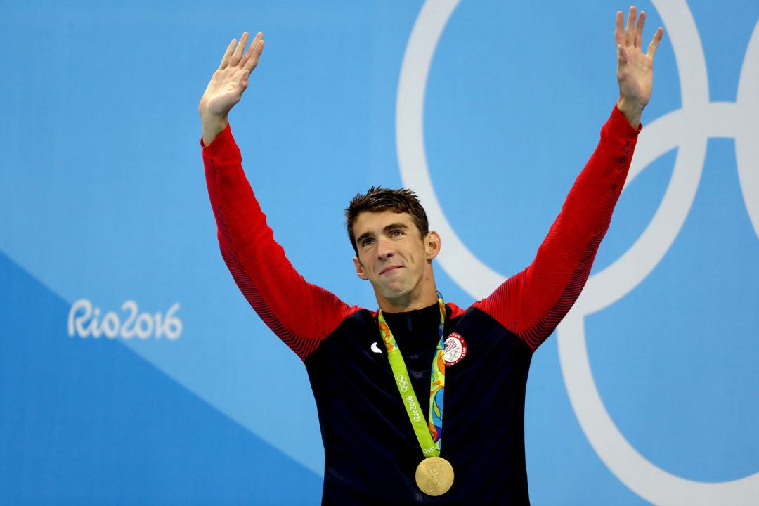 Michael Phelps Congratulates Dressel on 49.50 100 Fly WR: '#welldeserved'