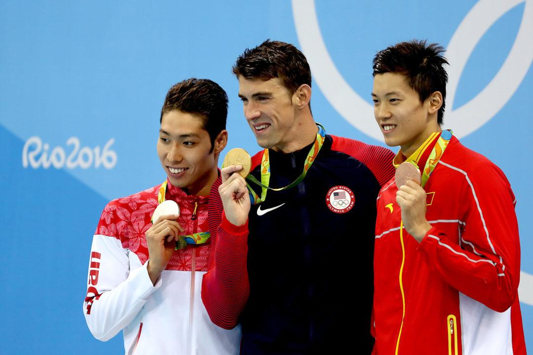 Wang Shun Checks In As 7th Fastest 200 IM Performer Of All Time