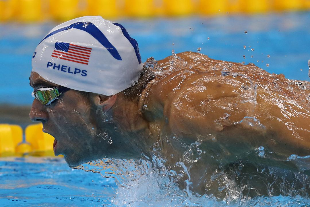 Even Last-Minute Ripped Cap Can't Stop Michael Phelps From Gold #21