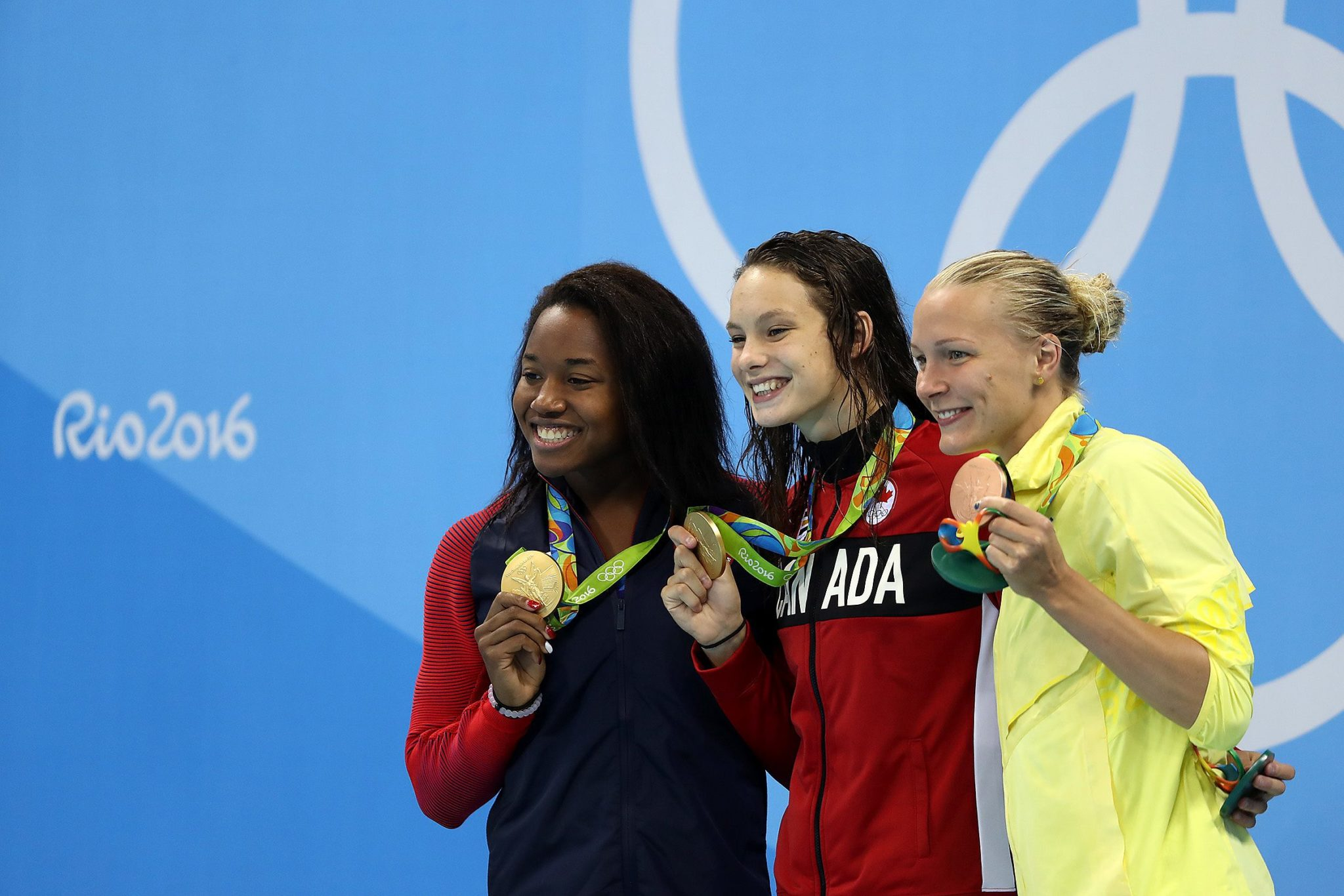 Simone squared: Gymnast Biles and swimmer Manuel both win Olympic gold