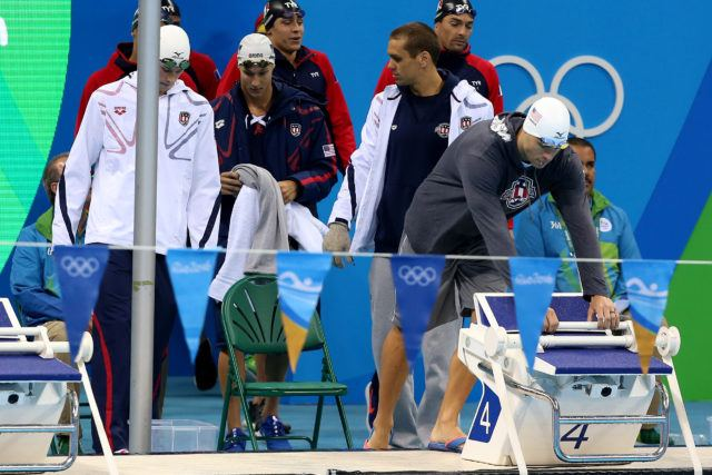Team USA relay - 2016 Rio Olympics/photo credit Simone Castrovillari