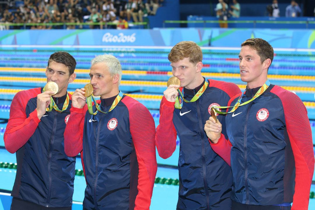 NCAA Update: College Stars Play Key Roles, Earn 800 Free Relay Medals