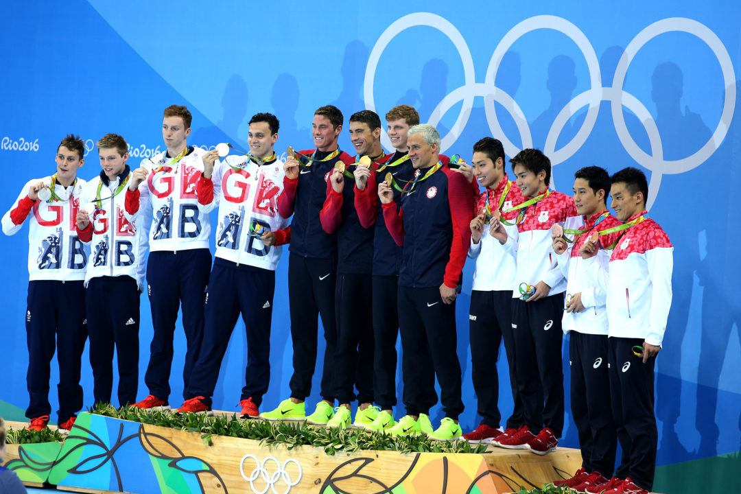 Looking Ahead to Tokyo for the Men's 800 Freestyle Relay