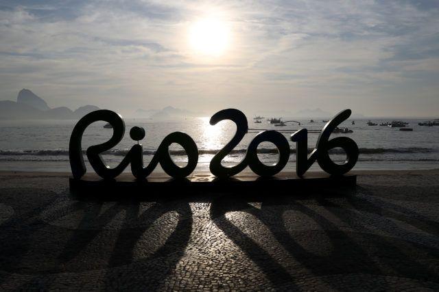 Poliana Okimoto durante a prova de 10Km da maratona aquatica realizada na praia de Copabana. Jogos Olimpicos Rio 2016. 15 de Agosto de 2016, Rio de Janeiro, RJ, Brasil. Foto: Satiro Sodré/SSPress