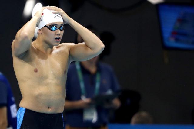 Joe Schooling - 2016 Olympic Games in Rio -courtesy of simone castrovillari