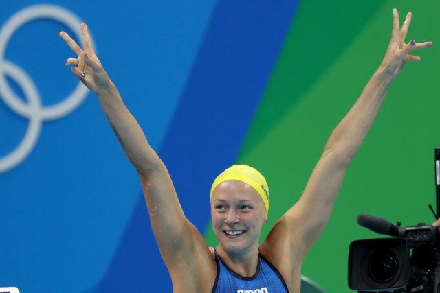Sarah Sjostrom - 2016 Olympic Games in Rio -courtesy of simone castrovillari