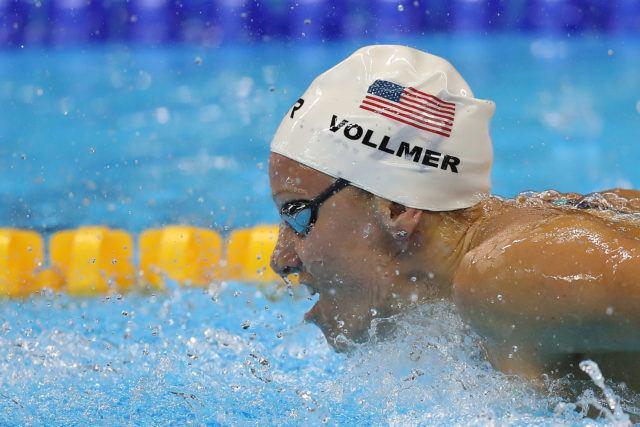 Dana Vollmer - 2016 Olympic Games in Rio -courtesy of simone castrovillari