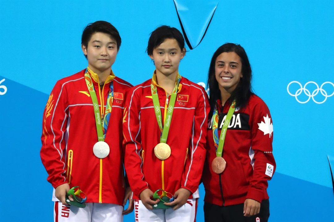 Ren Qian Takes Over As China Wins 3rd-Straight 10m Platform Gold