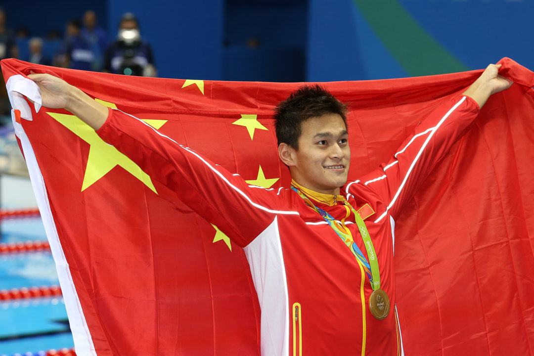 Two London Medalists, Including Sun Yang, Miss 1500 Final