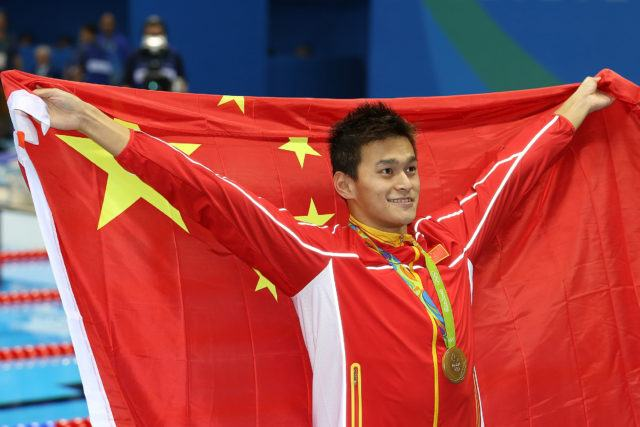 Sun Yang - 2016 Olympic Games in Rio -courtesy of simone castrovillari