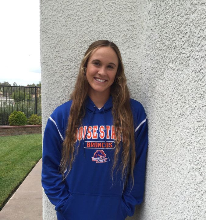 Temecula's Madison Frederick to Take Free/Back Prowess to Boise State