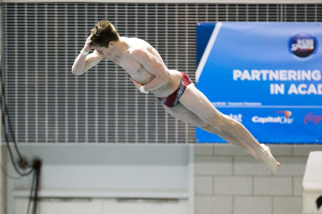 Indiana Puts Two Divers Into 1-Meter A Final, Texas One