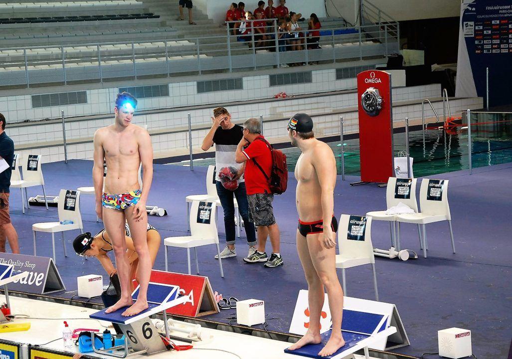 30.000 USD Bonus: Heintz wird Dritter im 1. Cluster, FINA World Cup Moskau