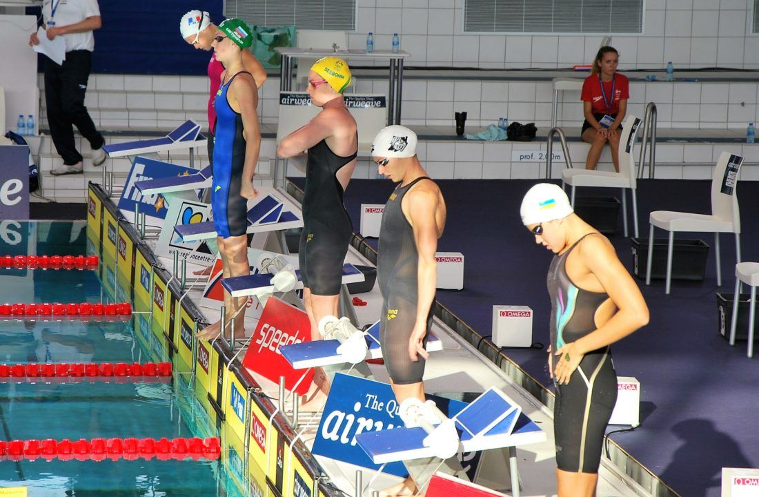 Katinka Hosszu starts in 7 finals at FINA World Cup Moscow, day 1