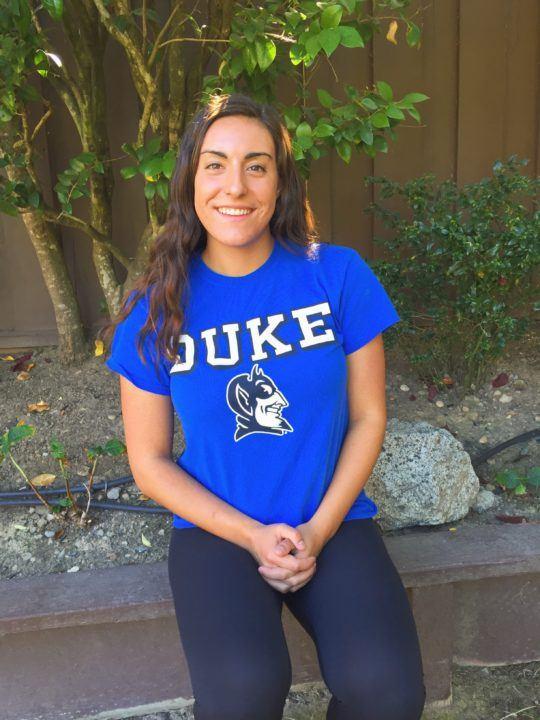 Duke Earns a Pair of Verbals: Halle Morris and Connie Dean