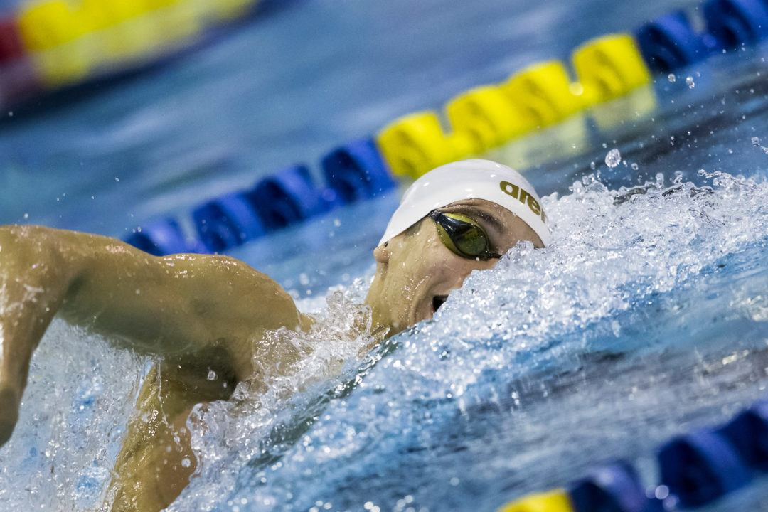 El-Kamash In, No Swim-Off In Men's 200 Free