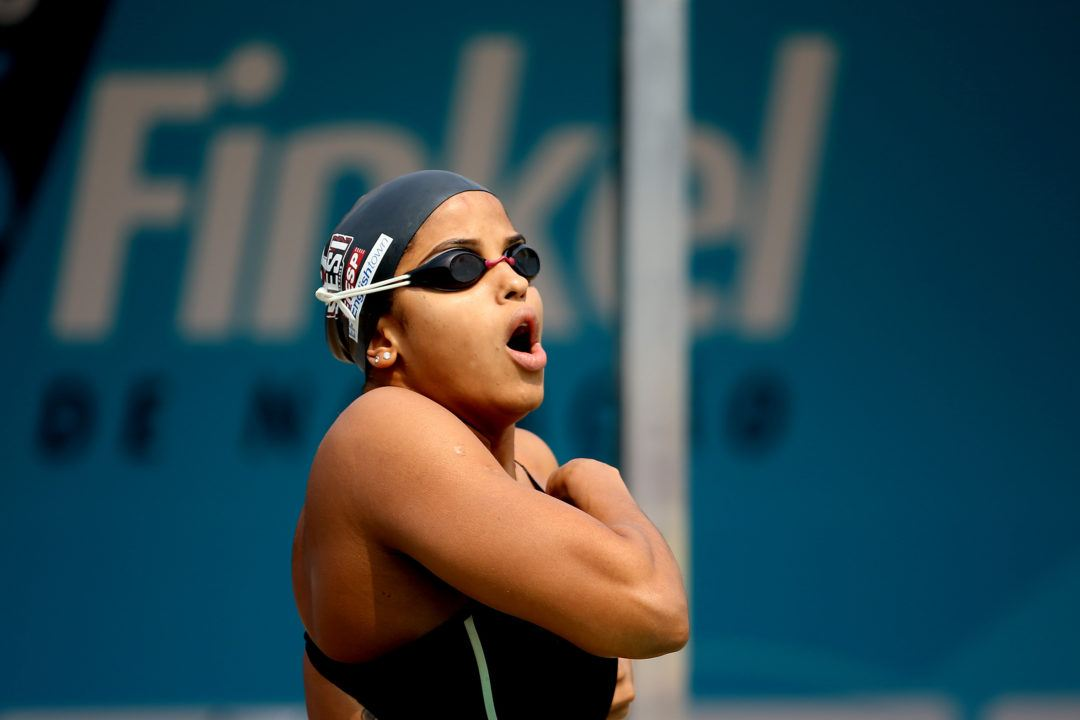 Etiene Medeiros Breaks South American Record in 50 Free