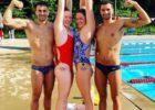Indiana University Swimmers Olympic tattoos: Blake Pieroni, Lilly King, Kennedy Goss, Marwan El Kamash