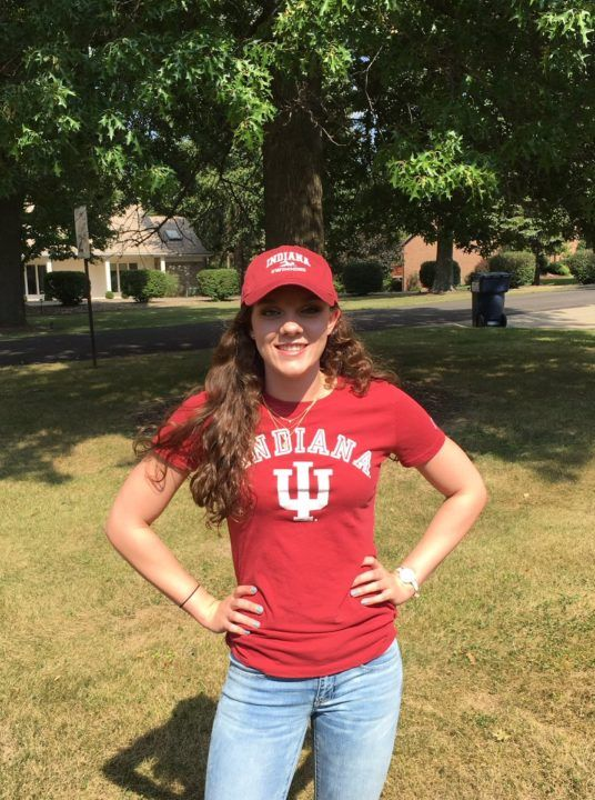 YMCA National Record-holder Camryn Forbes Declares Verbal to Indiana