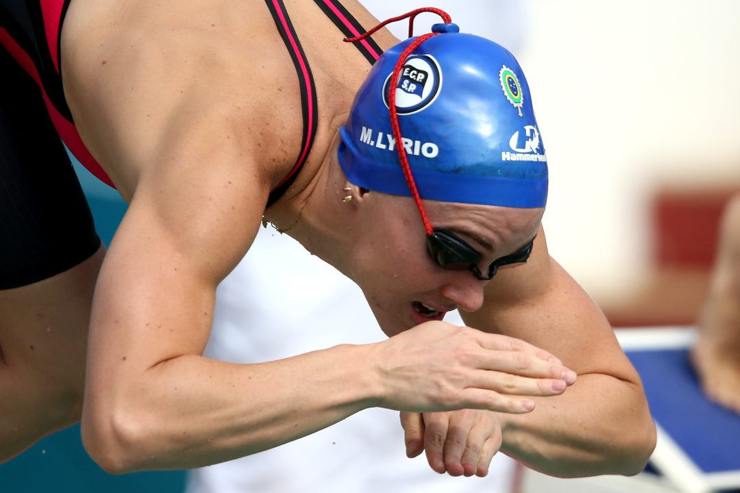 Manuella Lyrio Breaks South American Record in 200 Free