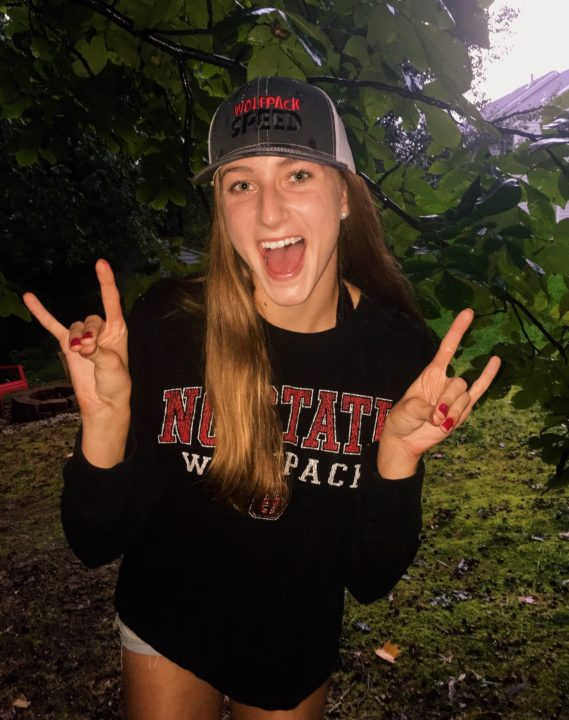 NC State Earns Verbal from 5x Virginia HS Champ, Olivia Fisher