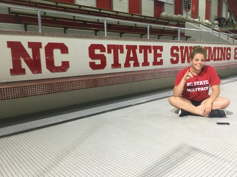 The Wolfpack Bag Yet Another Verbal: Canada's Danika Huizinga