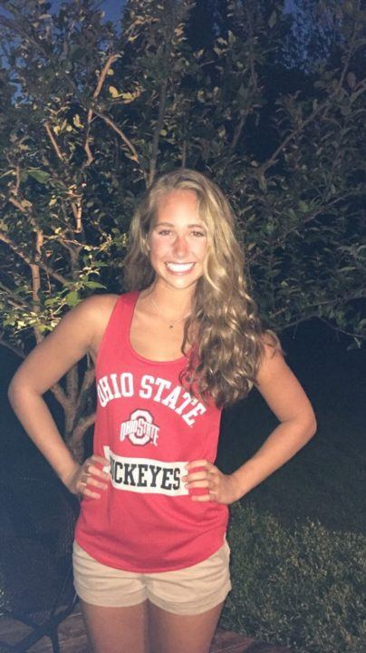 Ohio State Record-Holder Hanna Gresser Gives Verbal Commitment to OSU