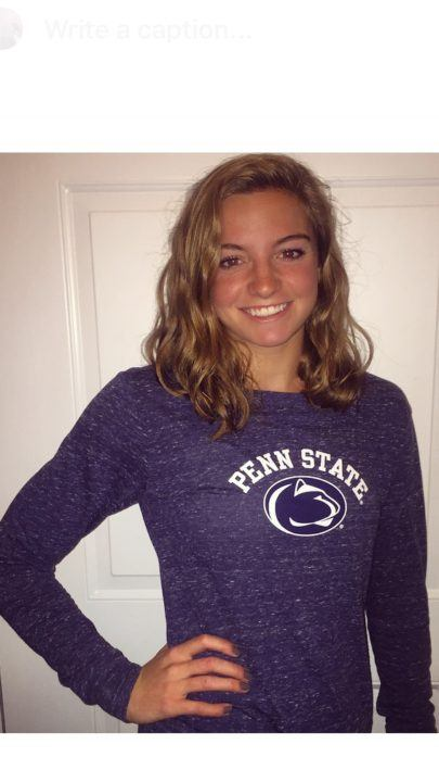 SwimMAC's Jane Donahue Gives Verbal Commitment to Penn State