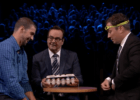 Michael Phelps,  Jimmy Fallon, Egg Russian Roulette - courtesy of Tonight Show Starring Jimmy Fallon
