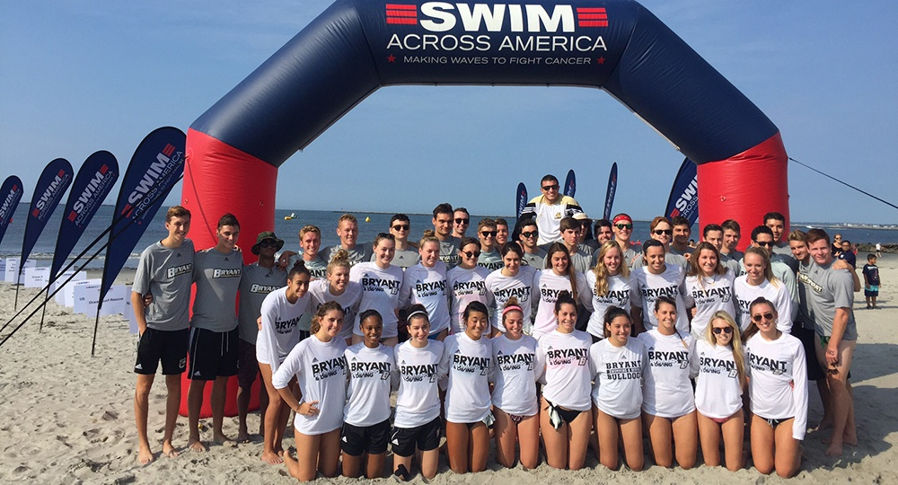 Bulldog Swim & Dive Raises $11,500 for Cancer Research