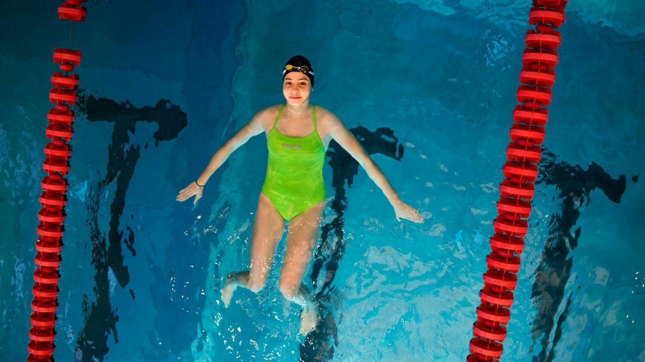 Syria's Yusra Mardini Signs with Under Armor, Stars in Phelps-esque Ad