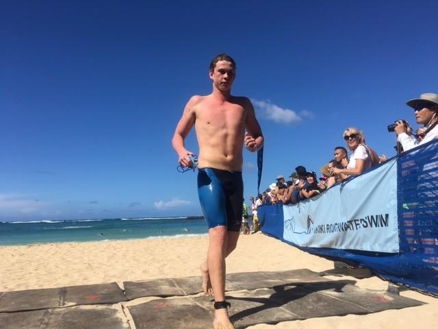 Signorini, Oestringer Win 2016 Waikiki Roughwater Swim