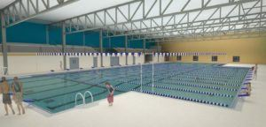 The Freemont Family YMCA has recently broken ground on the new facility for the Midland University swim teams