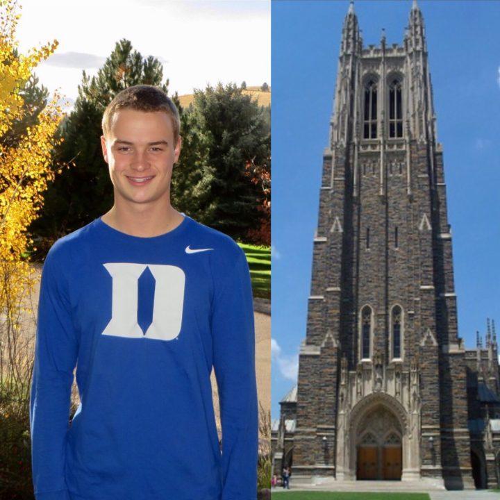 Junior National Finalist Adam Zimmer Gives Verbal to Duke