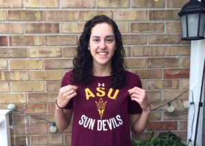 Emma Nordin, two-time defending Indiana HS Champ, is one of several big pickups for the ASU class of 2021.